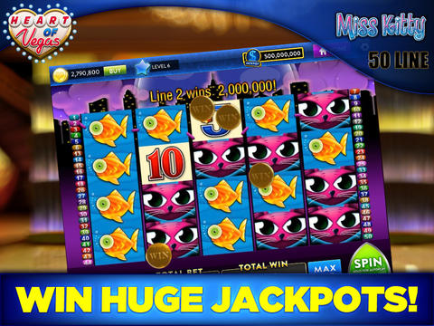 Free Casino Slots! Game Online - Heart of Vegas: Play Free Casino