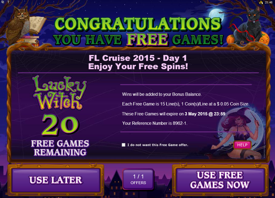 Free Free Spins Bonus Codes